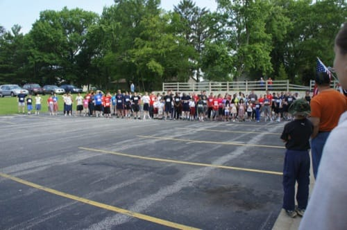 Starting Line of the 2013 Fairhaven 5K