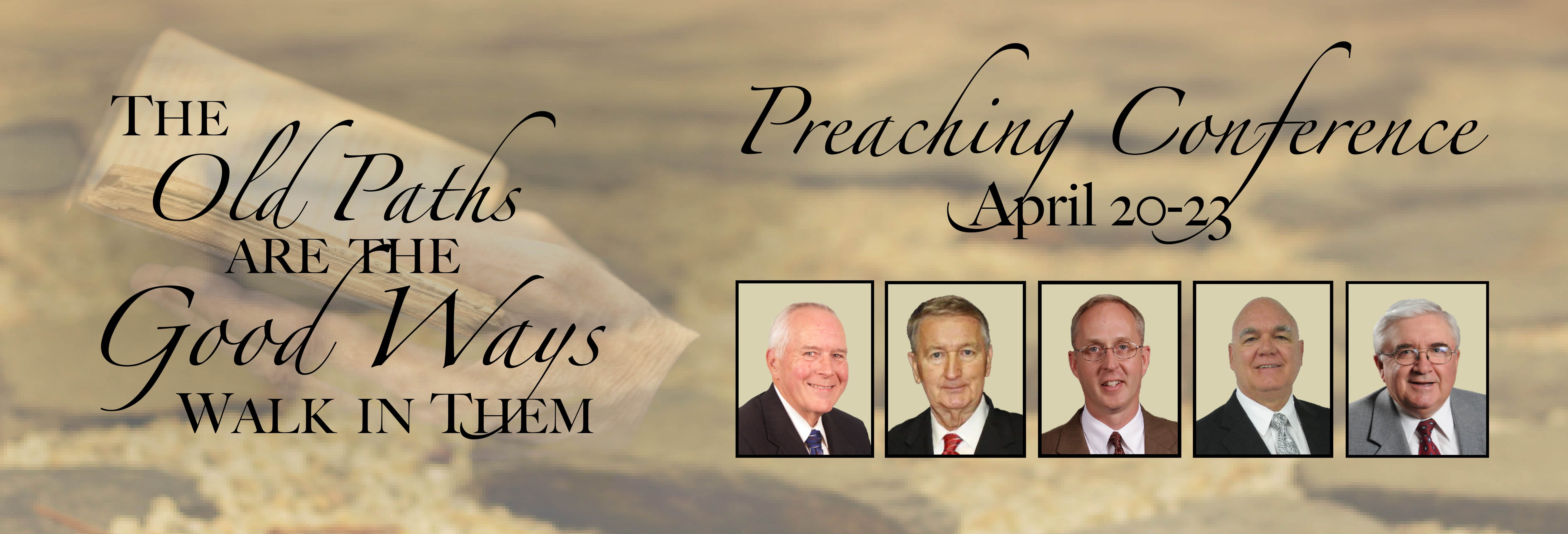 Preaching Conference 2015