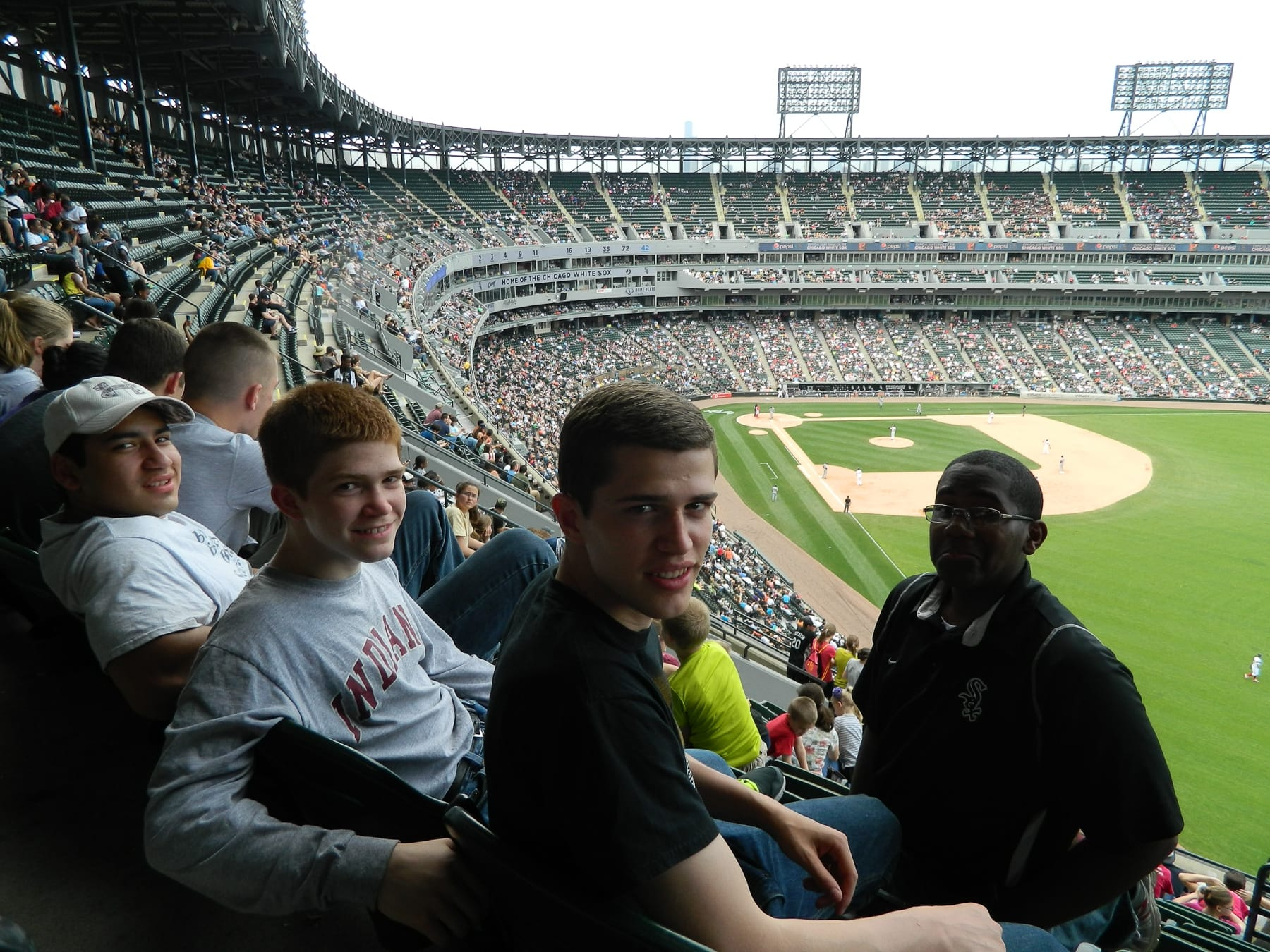 Fairhaven Baptist Academy White Sox Game 2015 (4 of 8)