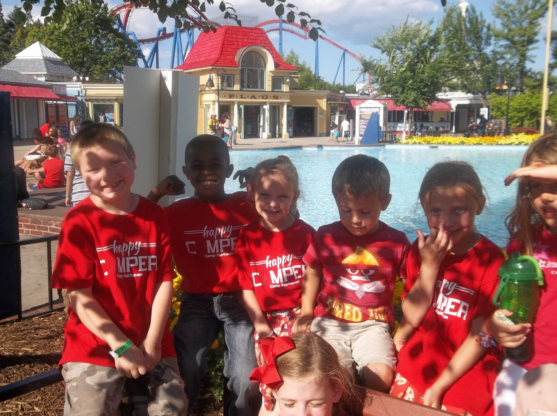 Camp Fairhaven Six Flags Great America 2015-2