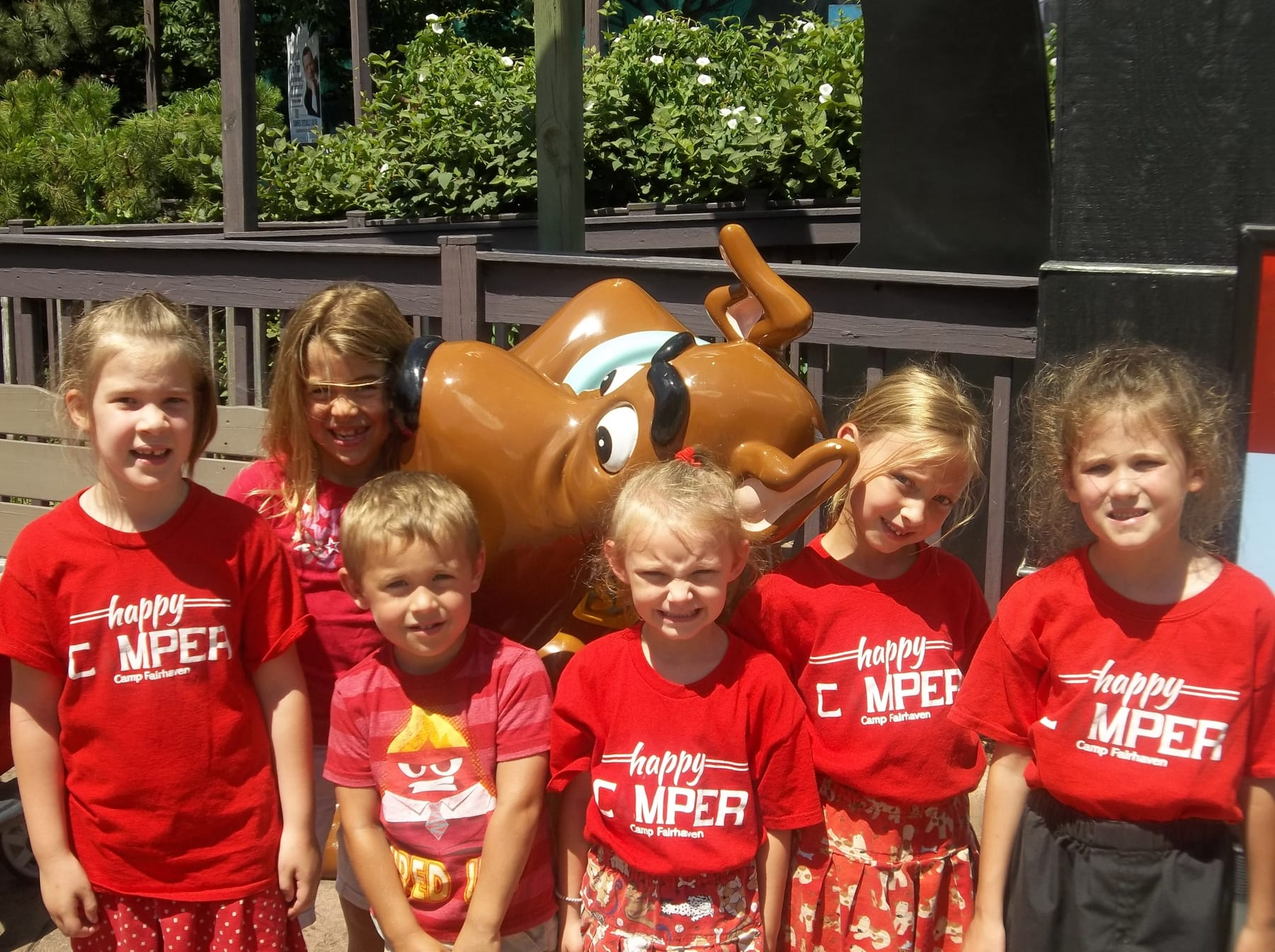 Camp Fairhaven Six Flags Great America 2015