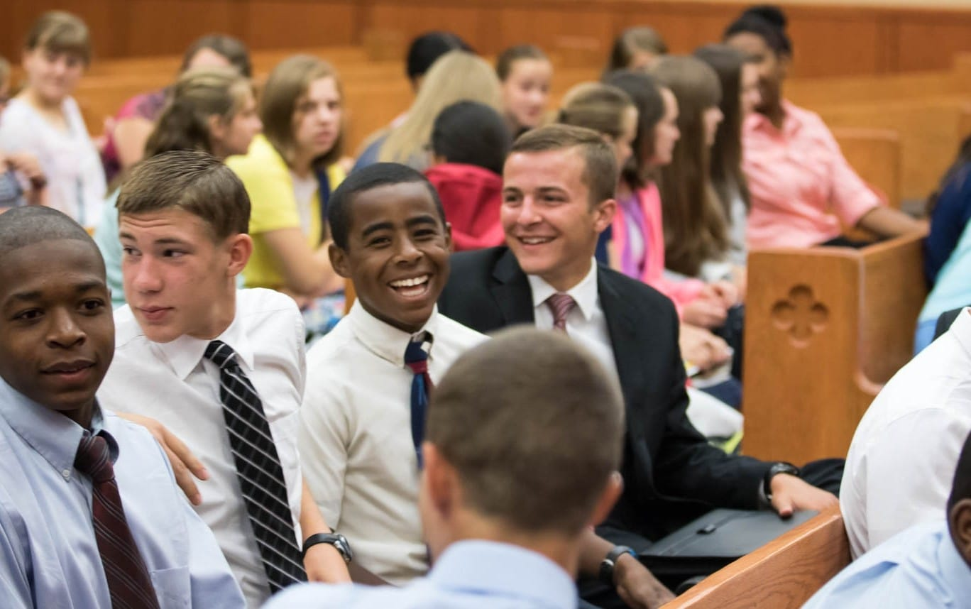 Fairhaven Baptist Academy First Day of School 2015 (9 of 10)