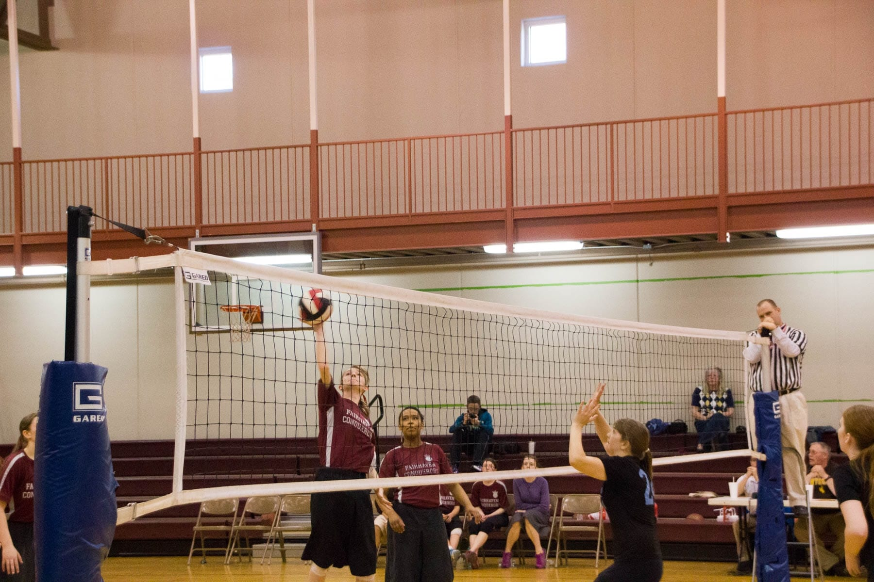 Fairhaven Baptist Academy Volleyball Basketball Tournament 2016 (30 of 40)