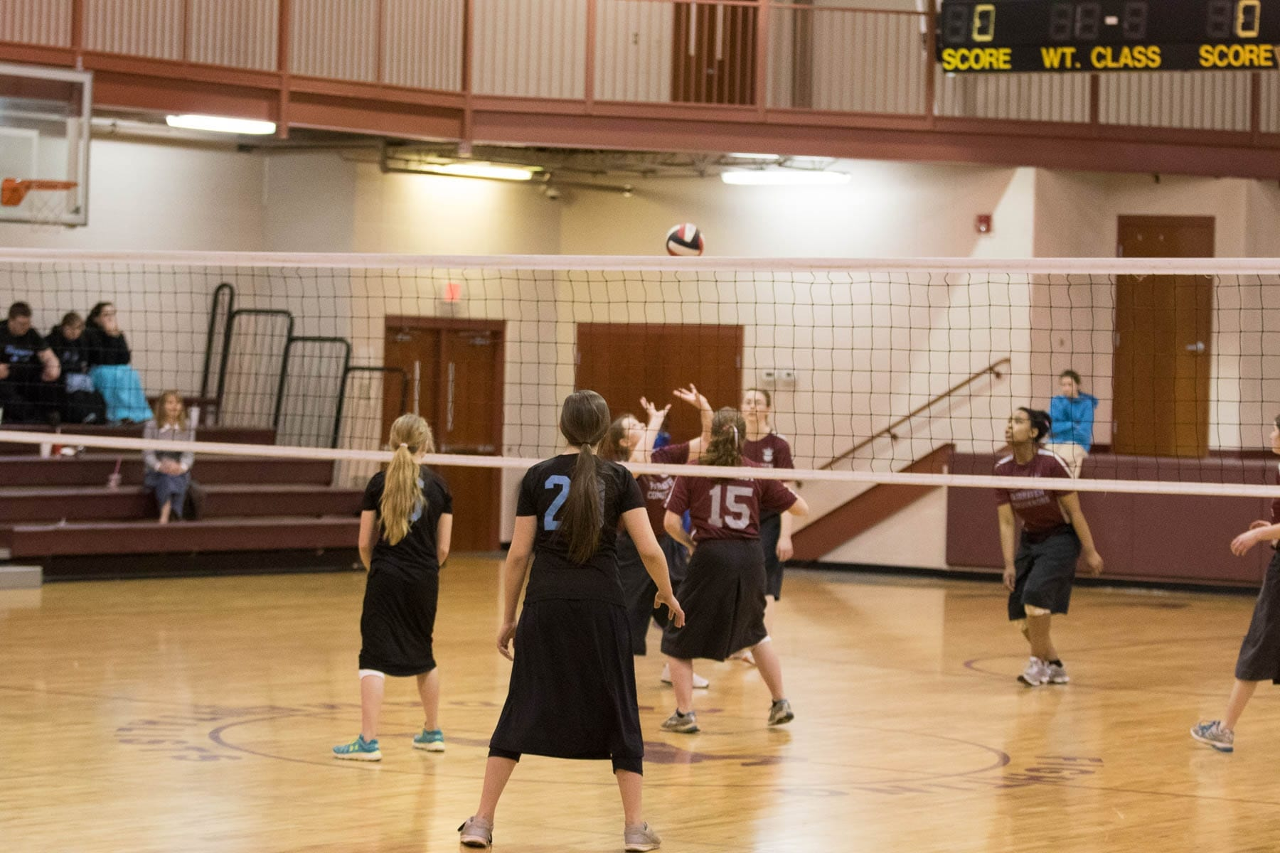 Fairhaven Baptist Academy Volleyball Basketball Tournament 2016 (35 of 40)