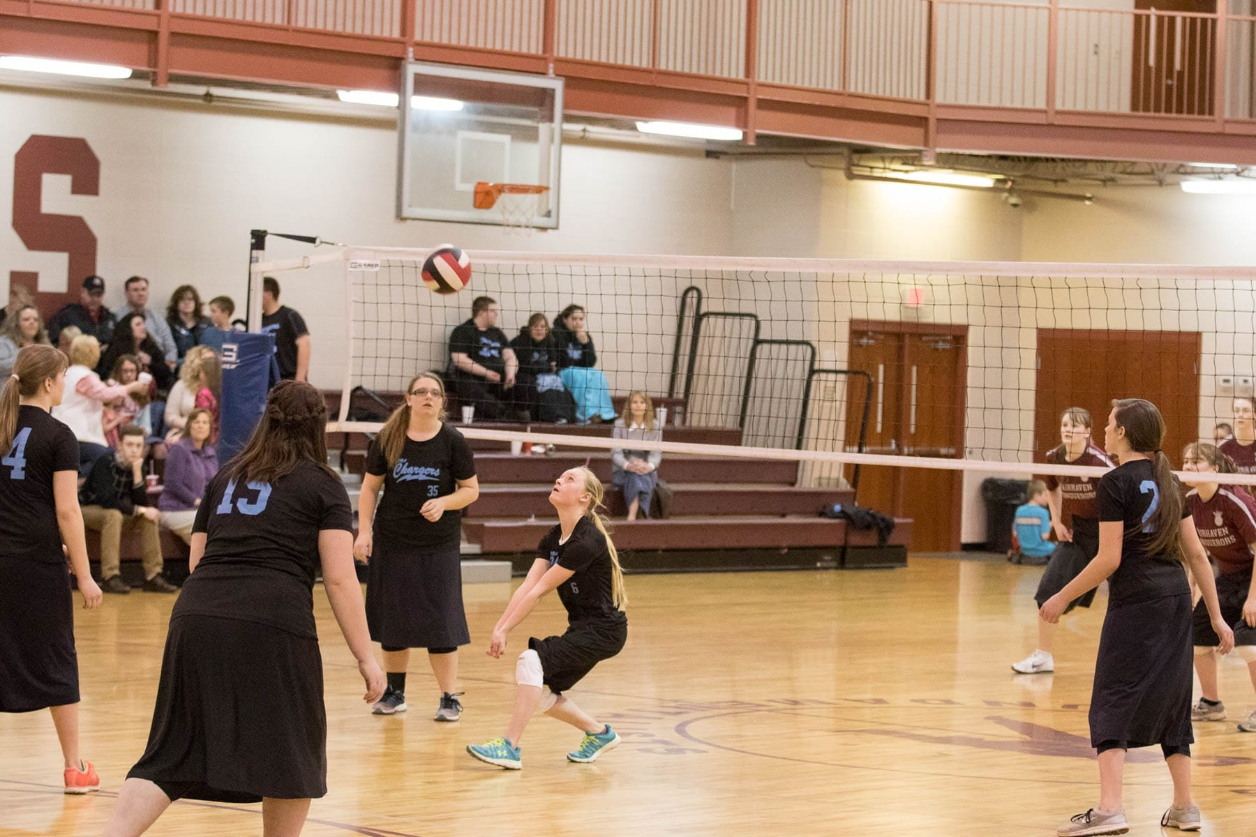 Fairhaven Baptist Academy Volleyball Basketball Tournament 2016 (37 of 40)