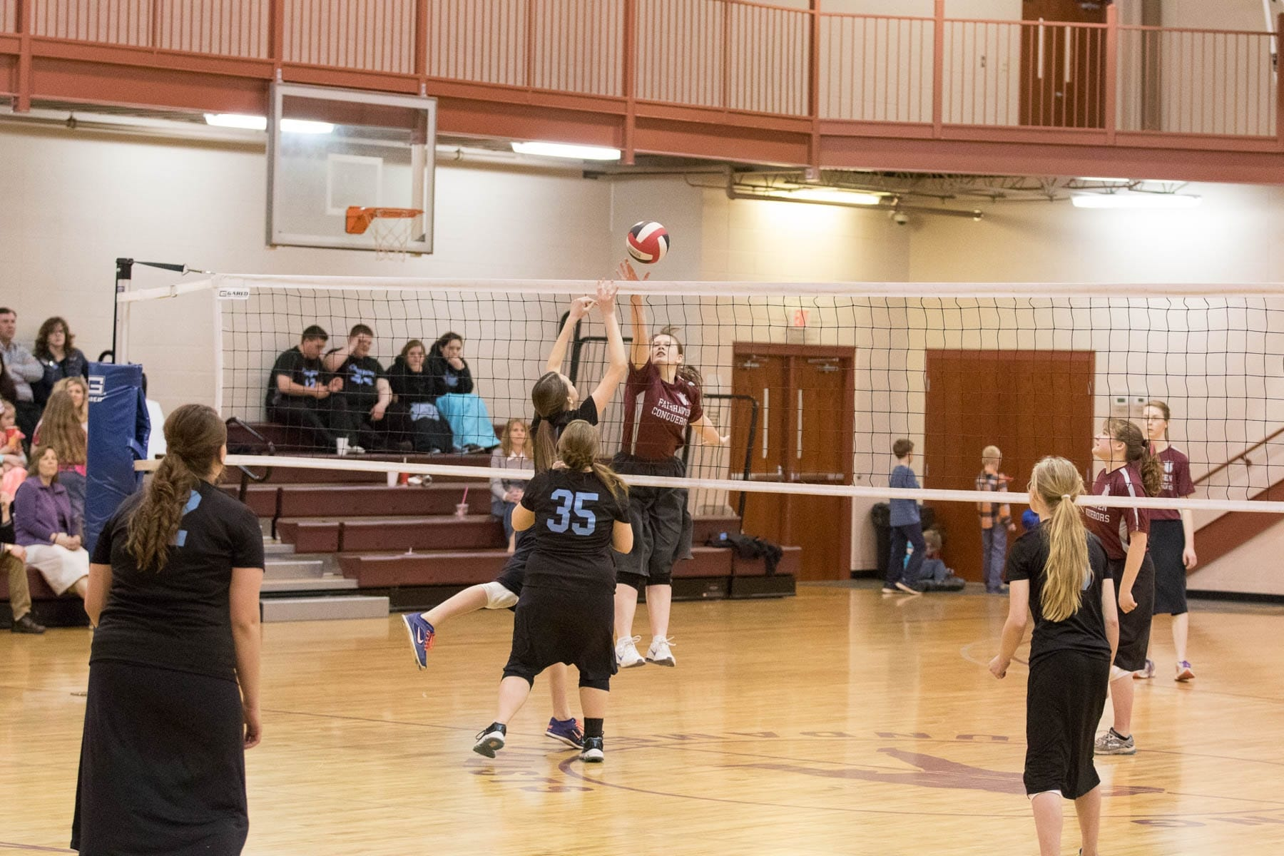 Fairhaven Baptist Academy Volleyball Basketball Tournament 2016 (38 of 40)